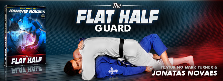 Brand New Jonatas Novaes Flat Half Guard DVD!