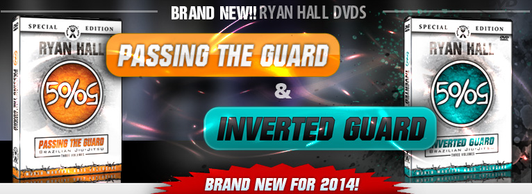 new passing the guard and inverted guard! ryan Hall BJJ