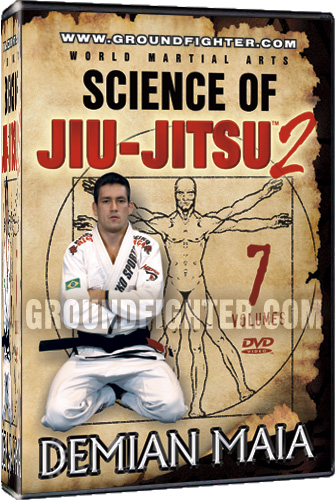 Demian Maia Science of Jiu-Jitsu 2 Instructional DVDs