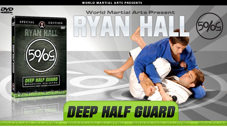 Ryan Hall The Deep Half Gaurd Brand New DVD Series