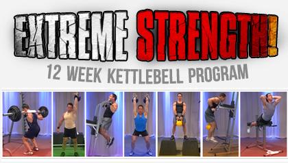 steve cotter  extreme strength  12 week kettlebell program
